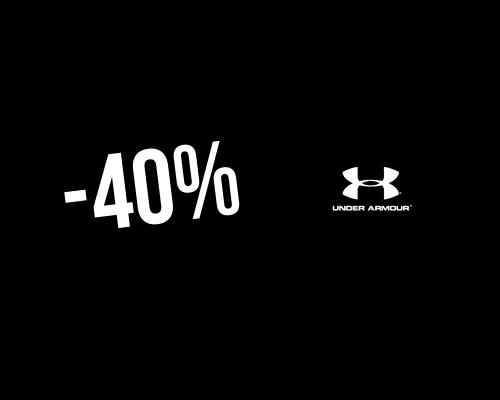 bolsillo Apariencia Inaccesible  40% → Código promocional Under Armour en febrero 2021
